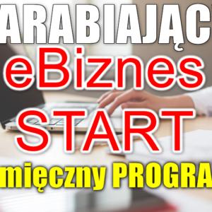 zarabianie w Internecie zarabiajacy ebiznes start 3 miesieczny program
